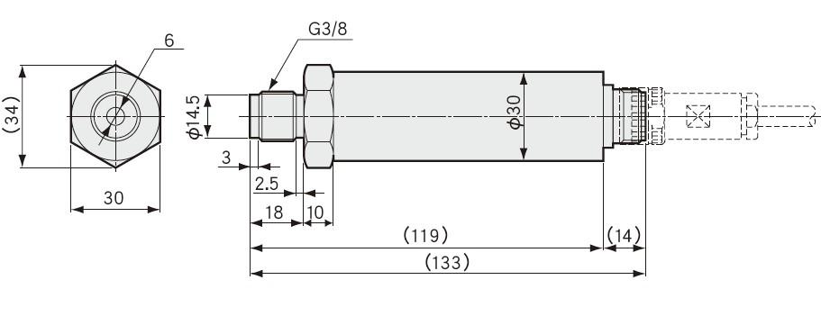PAG-A压力传送器 PAG-2KA压力传感器 日本kyowa