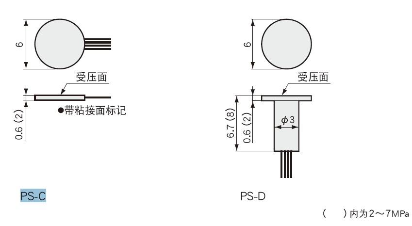 PS-C小型压力传感器,日本kyowa PS-D传感器