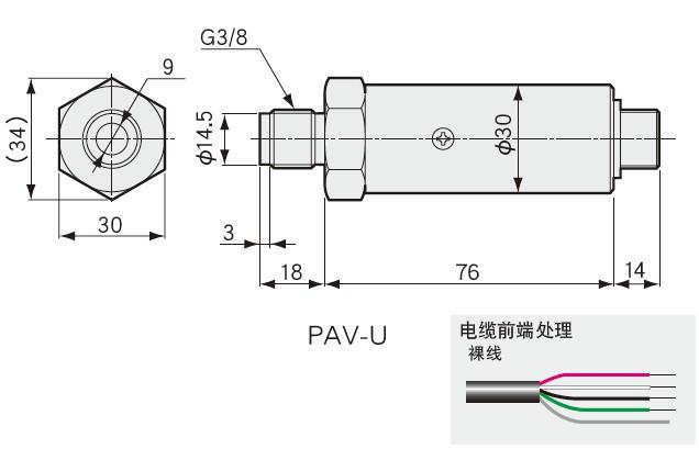 PAV-R压力传送器-日本kyowa电压输送型传感器