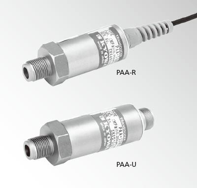 PAA-R压力传送器, PAA-U电流输送型传感器-日本kyowa