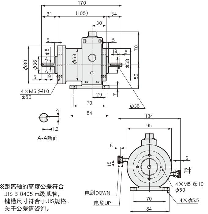 TP-M高速用扭矩传感器