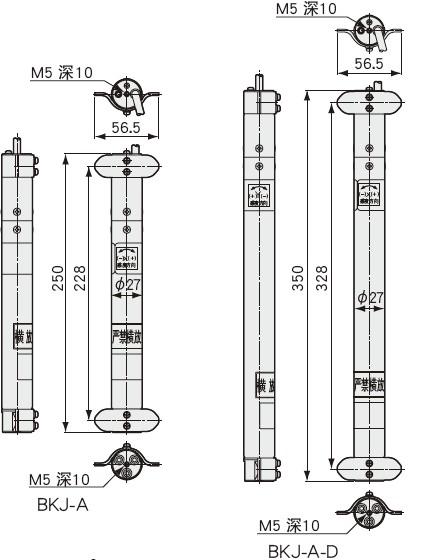 BKJ-A埋设式倾斜计用于测量地基防护墙的侧方位移