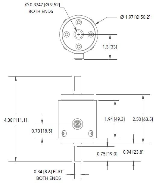 TSS400轴式静态扭矩传感器-美国Futek