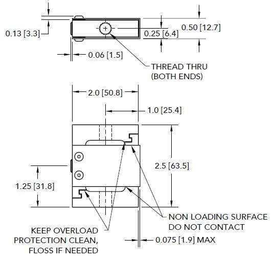 LSB302拉压力传感器_美国FutekS型
