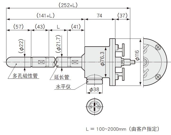 BPT-A-80KPS土壤水分计_BPT-A-80KPS传感器