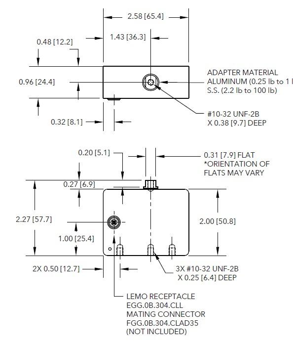 LRF400高精度拉压力传感器_超薄型应变式传感器_美国FUTEK