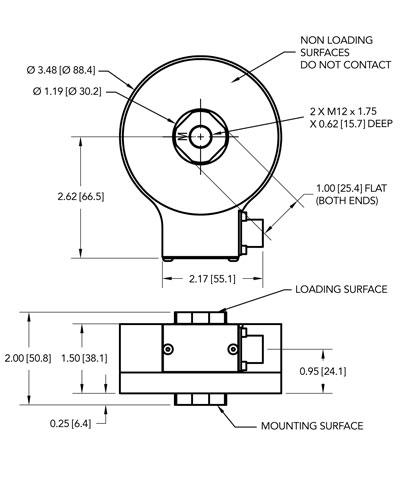 LCF400轮辐式拉压力传感器-美国Futek