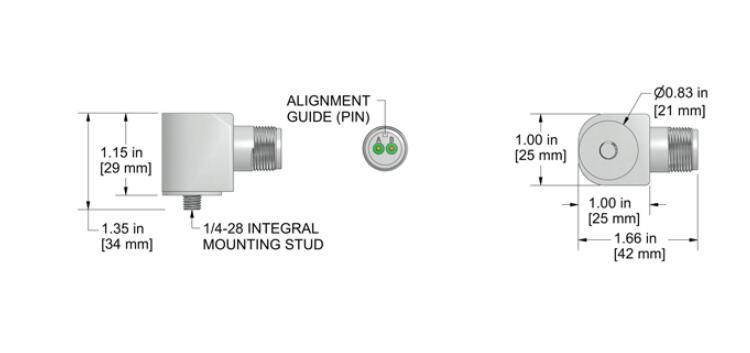AC116-1A磁座安装振动传感器