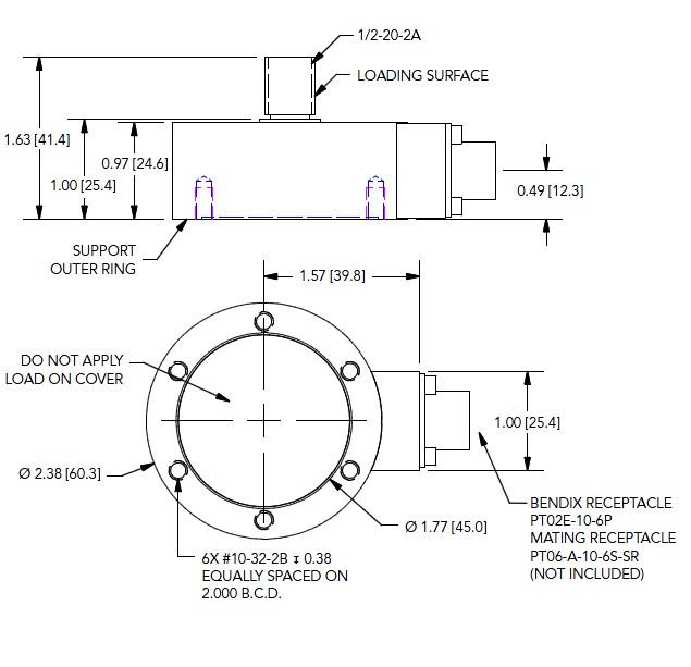 LCB500拉压力传感器杆端型