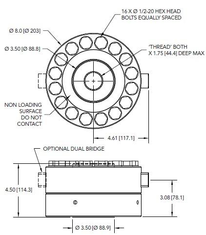 LCF555轮辐式拉压力传感器