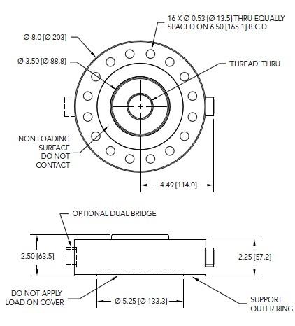 LCF550轮辐式拉压力传感器