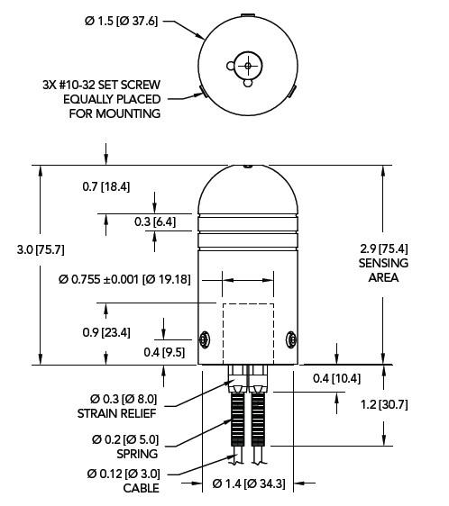 MAU300换档力传感器