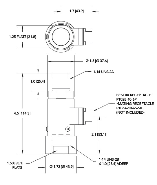 LCB450拉压力传感器说明书安装尺寸