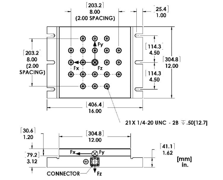 MC12六轴力传感器(多轴力传感器)