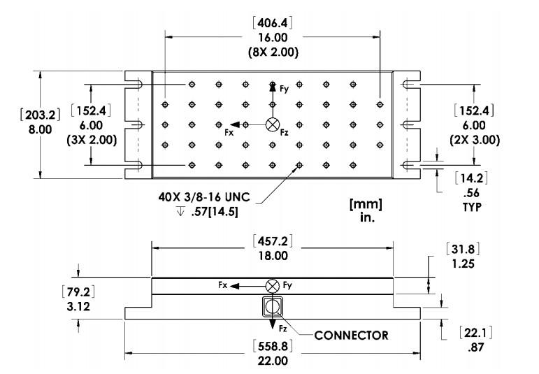MC818六轴力传感器(多轴力传感器)