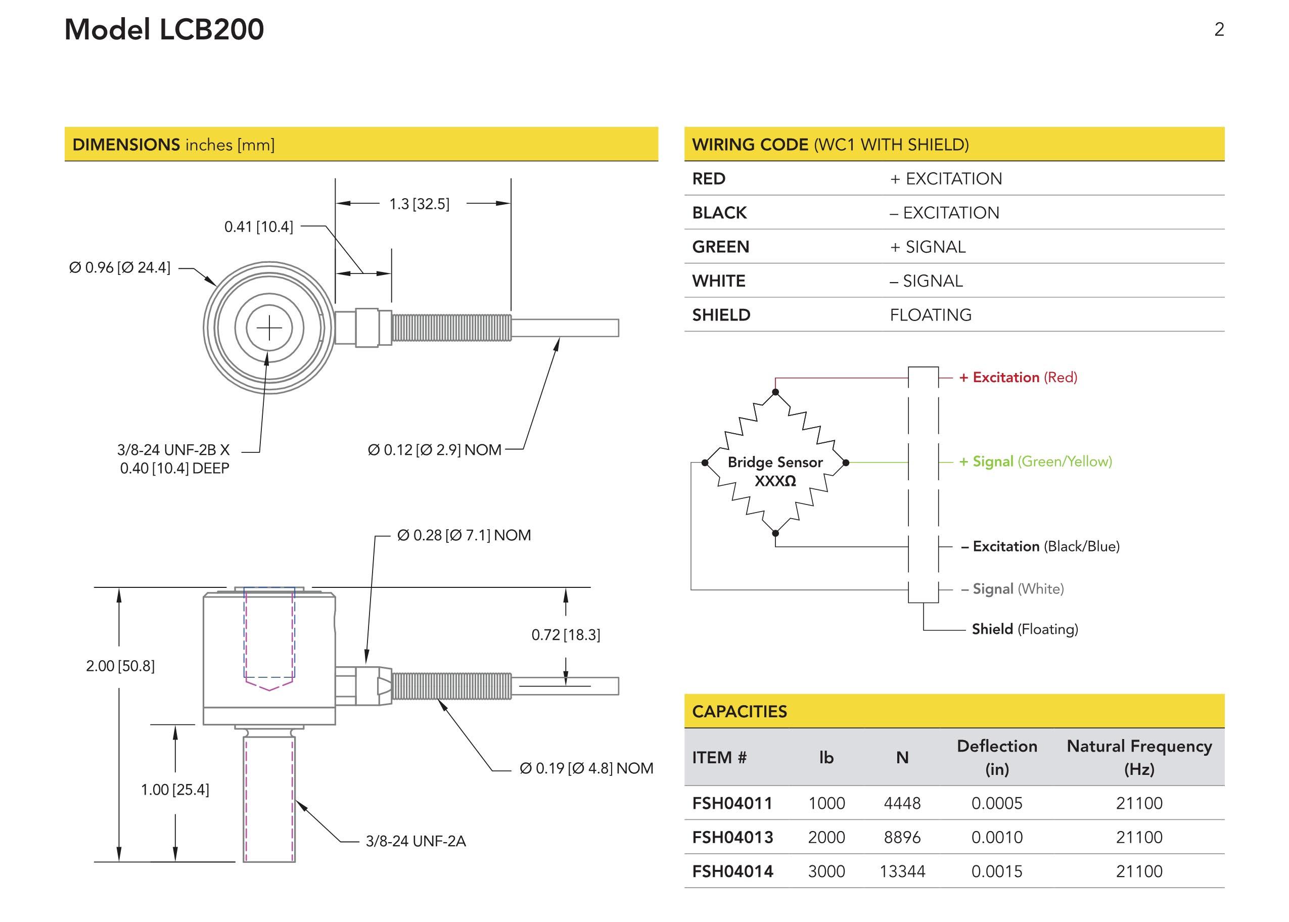 LCB200杆端拉压型力传感器
