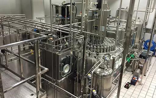 HBM数字称重传感器在牛奶包装行业应用_食品灌装