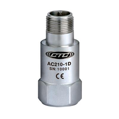 AC210-1D/2D/3D高精度振动加速度传感器