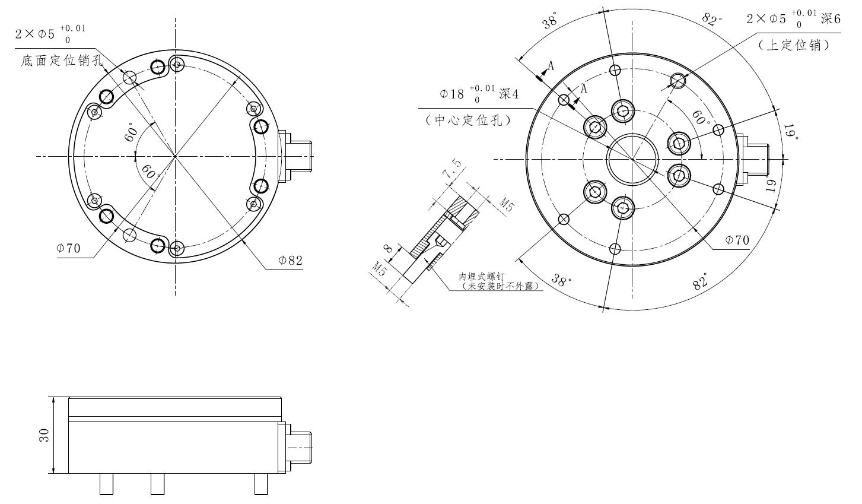 KWR82系列六轴力传感器