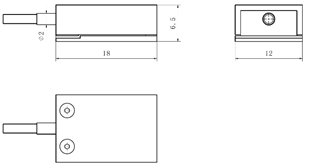 KWR-F系列指端传感器(大/小量程)_常州坤维(kunwei)