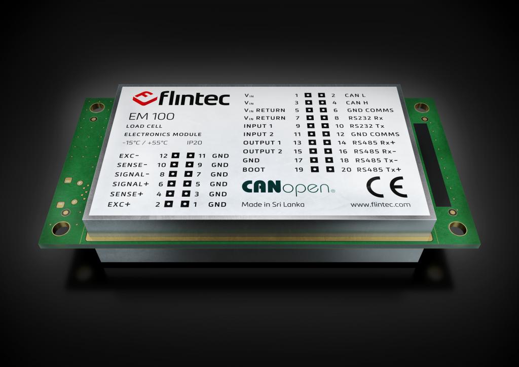 Flintec推出EM100,这是专用于常规称重应用的数字化设备系列
