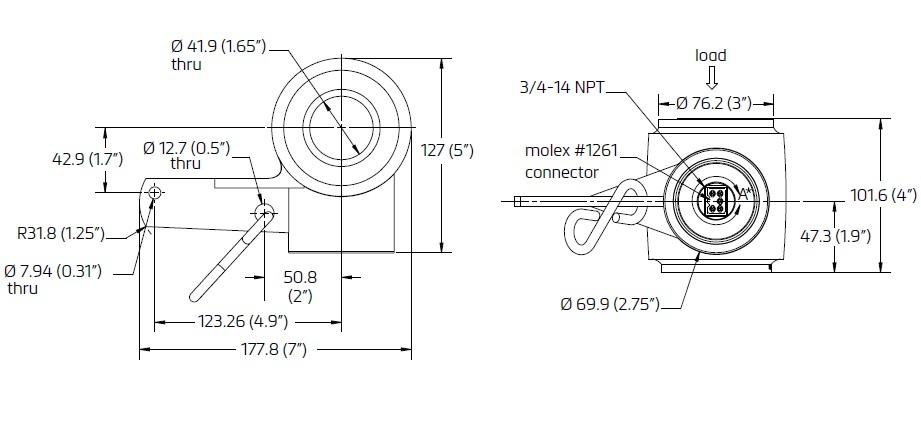 CC3泵出式控制称重传感器_德国FLINTEC(富林泰克)