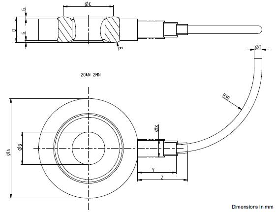 KMR+力传感器德国HBM_KMRW/20KN