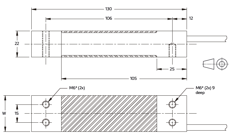 PC22单点称重传感器_PC22-20KG/30KG-GP德国FLINTEC