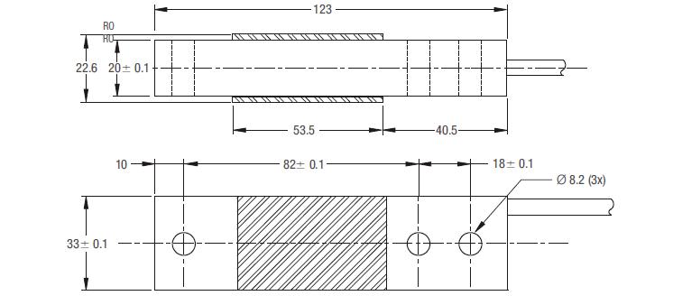 SB61C-50kg单点称重传感器_德国FLINTEC(原装)