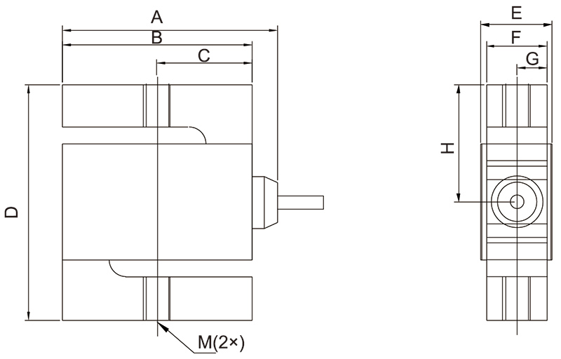 SMT-S型梁称重传感器_AiLogics