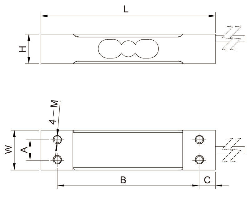 F1022单点称重传感器_AiLogics