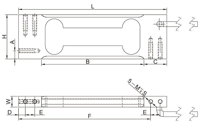 F1004单点称重传感器