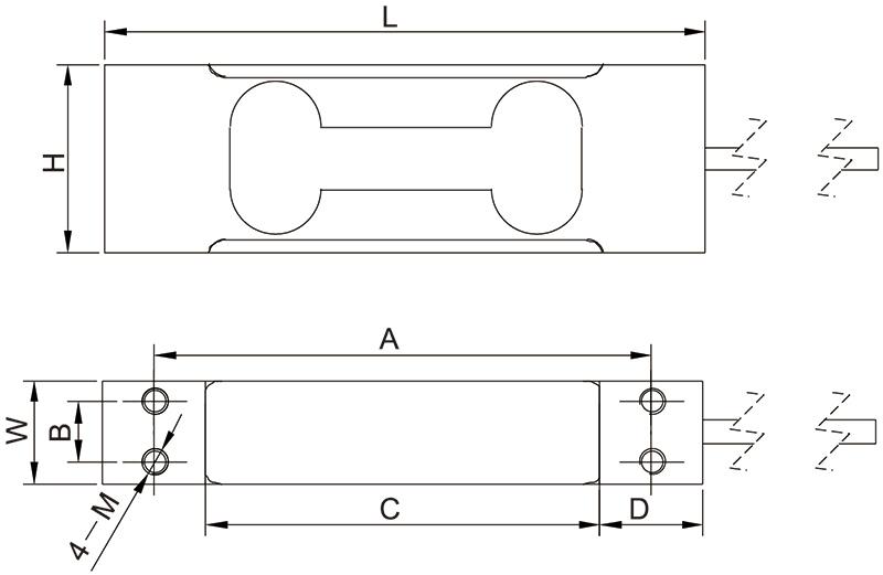 F1006单点称重传感器