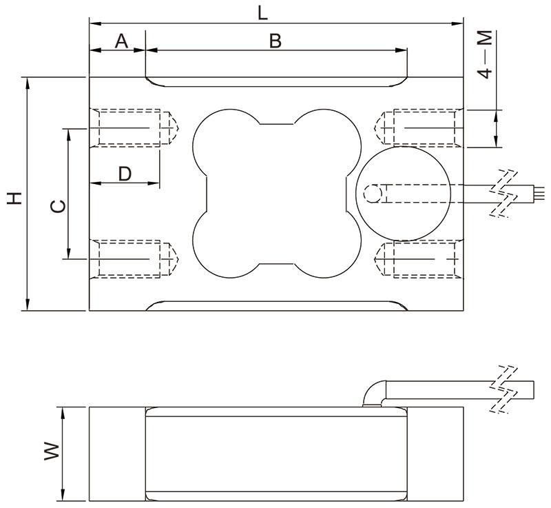 F1605单点称重传感器
