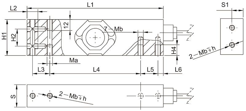 F1140单点称重传感器