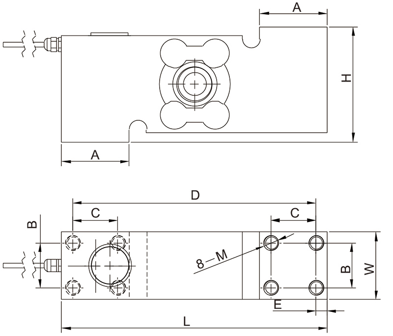 F1510单点称重传感器_AiLogics
