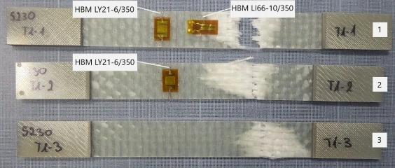 复合材料应力测试-埋入式与常规应变片的比较研究
