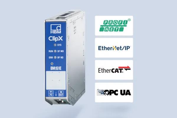 使用中的ClipX智能信号调理器