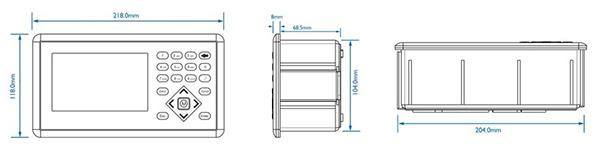 杰曼M04-2包装称重仪表 称重显示器