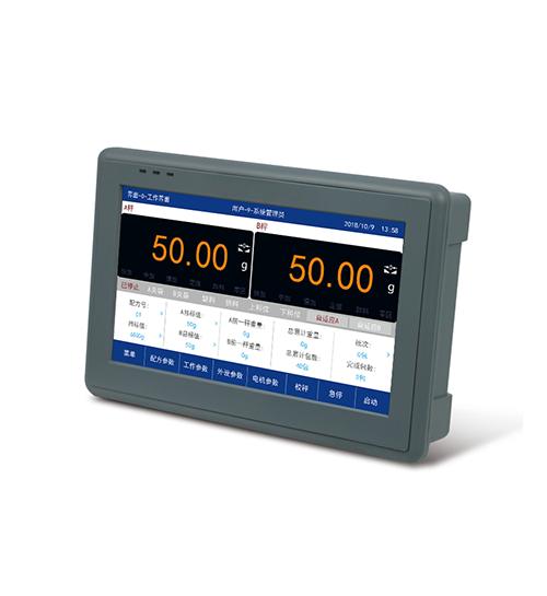 杰曼GM9907-LD触屏双秤包装称重仪表 称重显示器