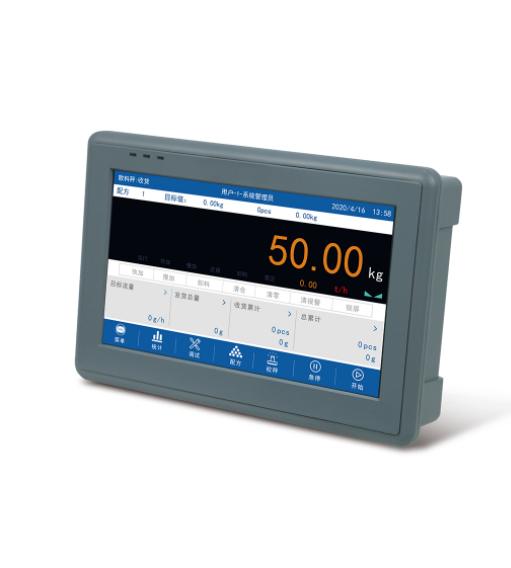 GM9907-L5触屏散粮称重控制仪表 散粮控制