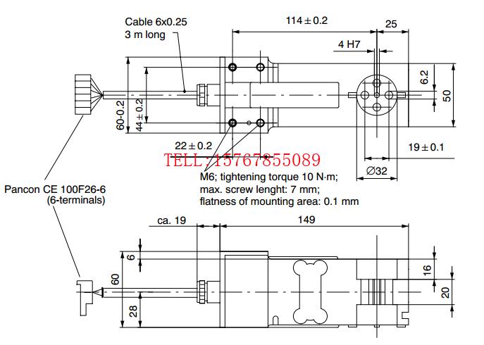 PW18C3/50Kg产品尺寸图